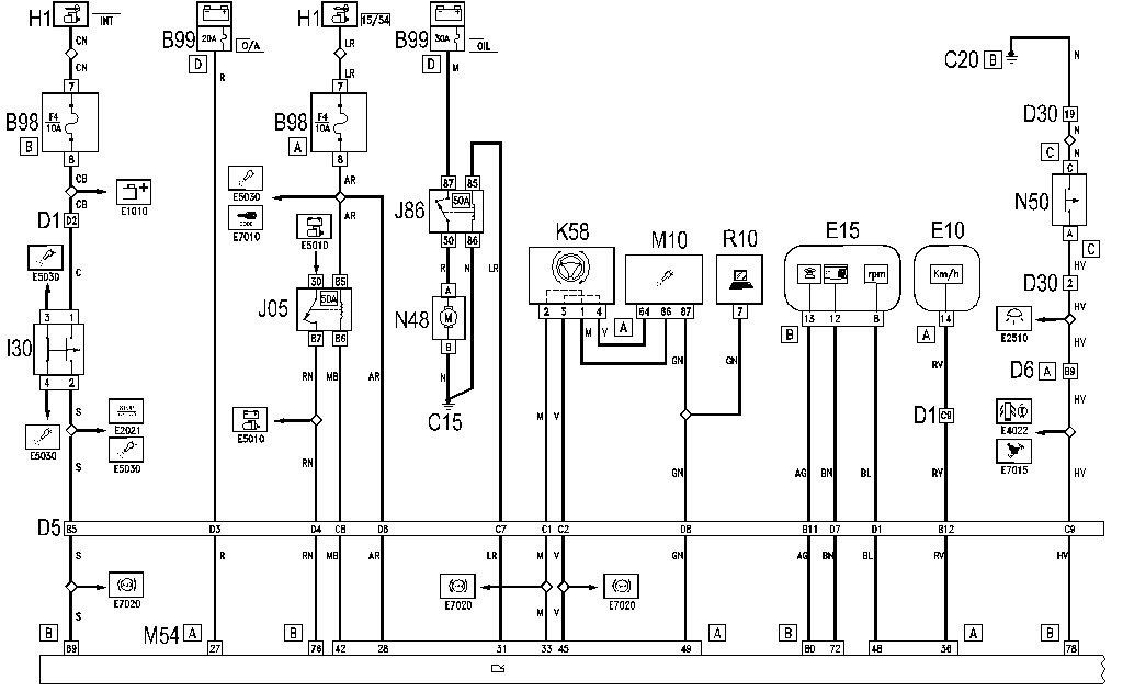 alfa romeo electrical wiring diagrams alfa romeo q and ... on