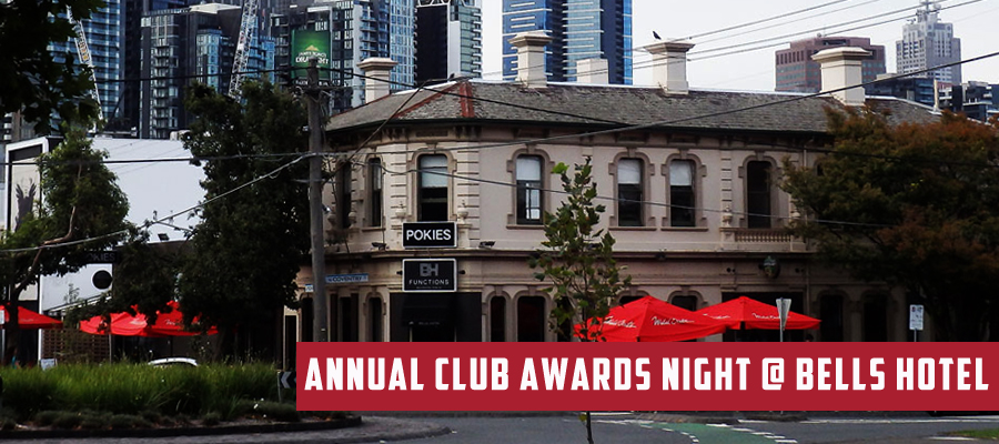 Annual Club Awards Night @ Bells Hotel April 11