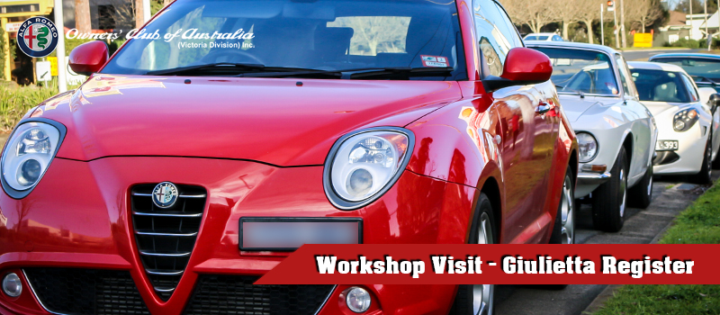 9th Feb – Giulietta Register – Alex Donnini Workshop Visit