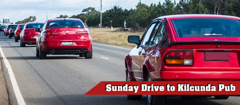 3rd Feb – Sunday Drive to Kilcunda Pub