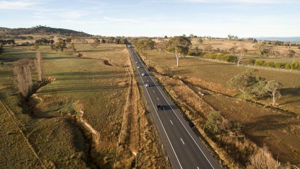 Drive to the Goulburn Valley